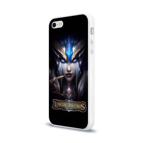 Чехол для Apple iPhone 5/5S силиконовый глянцевый  Фото 03, League of Legends