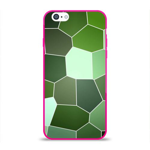 Чехол для Apple iPhone 6 силиконовый глянцевый  Фото 01, Мозаика