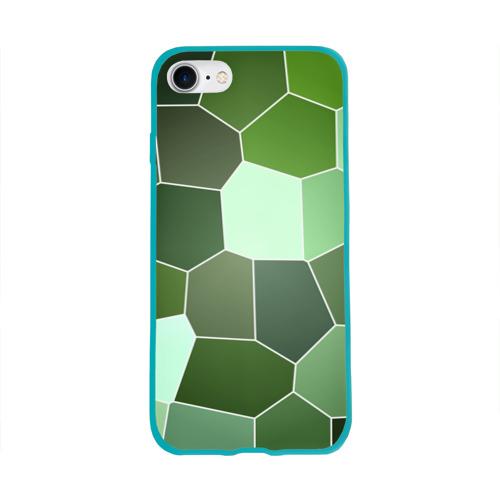 Чехол для Apple iPhone 8 силиконовый глянцевый  Фото 01, Мозаика