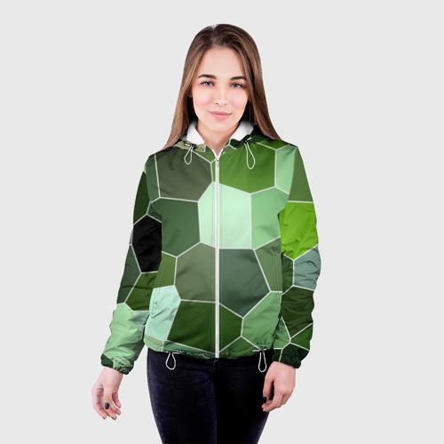 Женская куртка 3D  Фото 03, Мозаика
