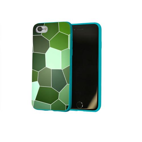 Чехол для Apple iPhone 8 силиконовый глянцевый  Фото 02, Мозаика