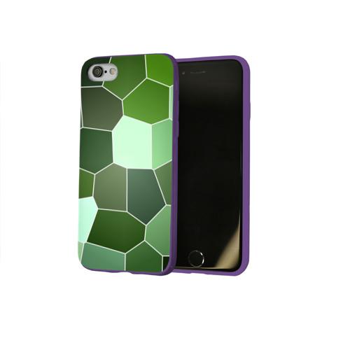 Чехол для Apple iPhone 8 силиконовый глянцевый Мозаика Фото 01