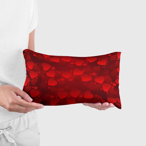 Подушка 3D антистресс  Фото 03, Красные сердца