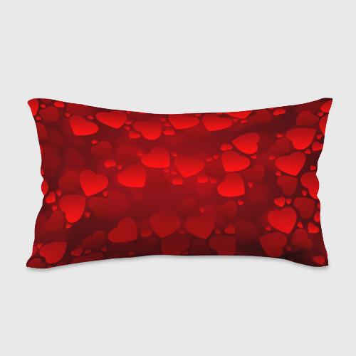 Подушка 3D антистресс  Фото 02, Красные сердца