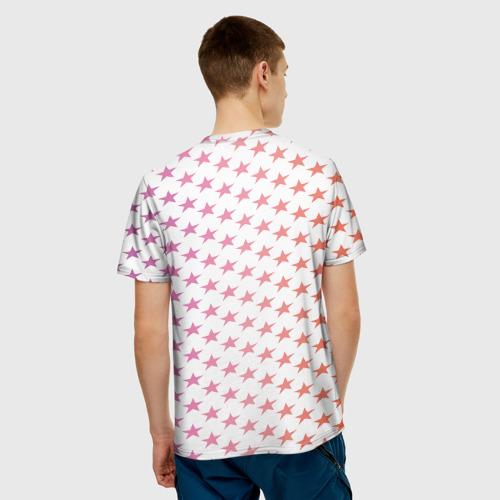 Мужская футболка 3D  Фото 02, Звёзды