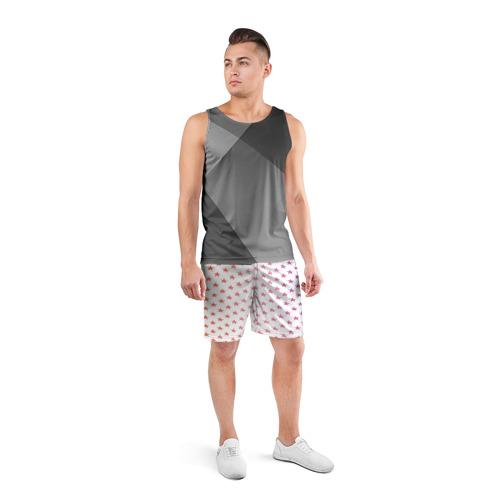 Мужские шорты 3D спортивные  Фото 04, Звёзды