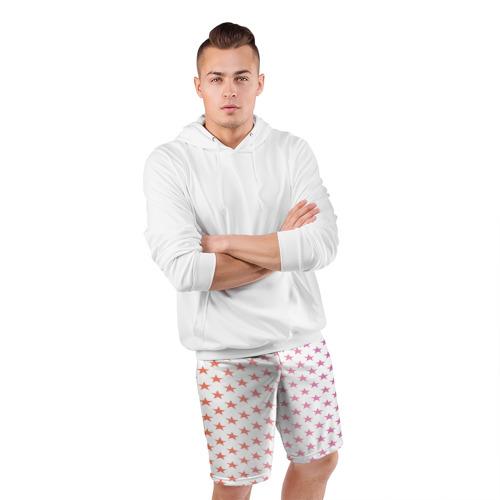 Мужские шорты 3D спортивные  Фото 05, Звёзды