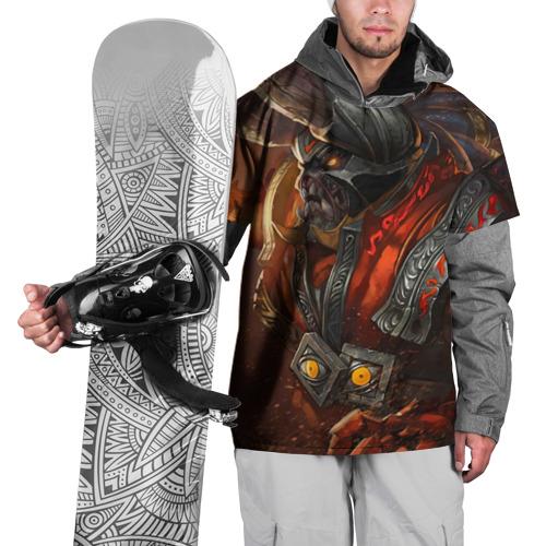 Накидка на куртку 3D  Фото 01, Fire