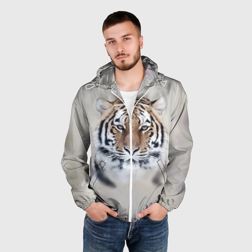 Мужская ветровка 3D  Фото 03, Tiger