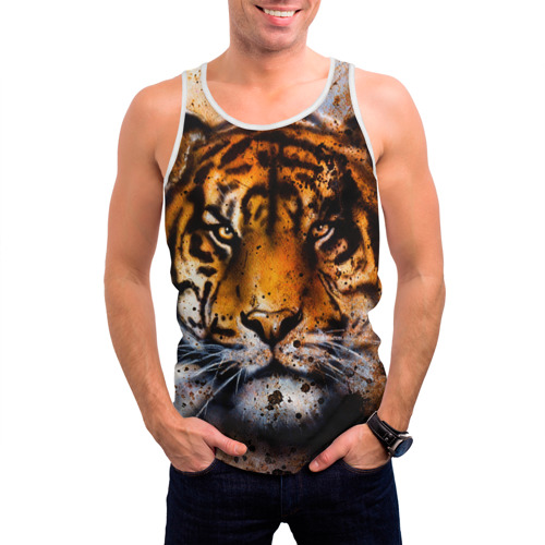 Мужская майка 3D  Фото 03, Tiger