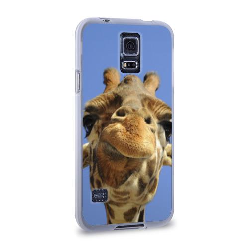 Чехол для Samsung Galaxy S5 силиконовый  Фото 02, Жирафик