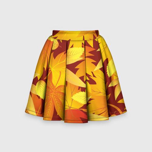 Детская юбка-солнце 3D Камуфляж \