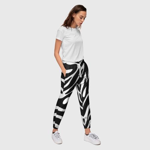 Женские брюки 3D  Фото 03, Зебра
