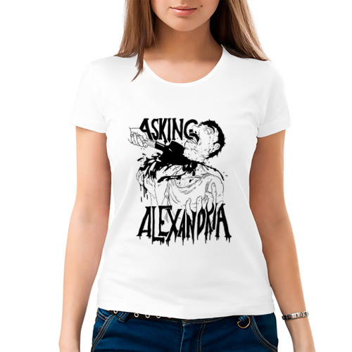 Женская футболка хлопок  Фото 03, Asking Alexandria