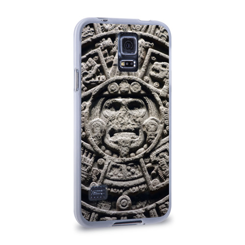 Чехол для Samsung Galaxy S5 силиконовый  Фото 02, Календарь ацтеков