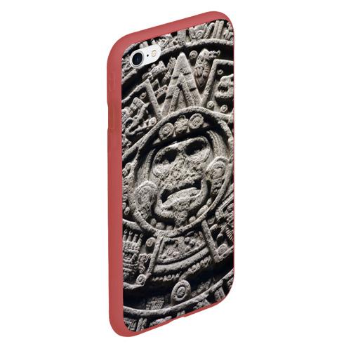 Чехол для iPhone 6Plus/6S Plus матовый Календарь ацтеков Фото 01