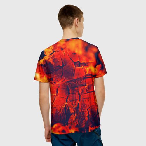 Мужская футболка 3D  Фото 02, Огонь