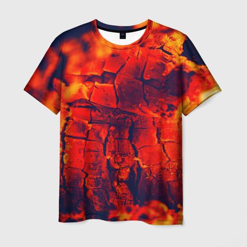 Мужская футболка 3D  Фото 01, Огонь