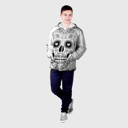 Мужская куртка 3D  Фото 03, Череп