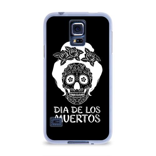 Чехол для Samsung Galaxy S5 силиконовый  Фото 01, День мертвецов