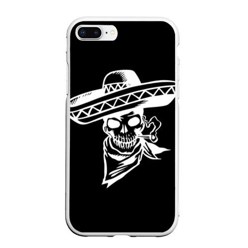 Чехол для iPhone 7Plus/8 Plus матовый День мертвецов Фото 01