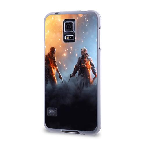 Чехол для Samsung Galaxy S5 силиконовый  Фото 03, Battlefield 1