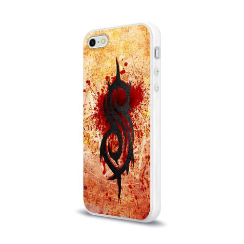 Чехол для Apple iPhone 5/5S силиконовый глянцевый  Фото 03, Slipknot