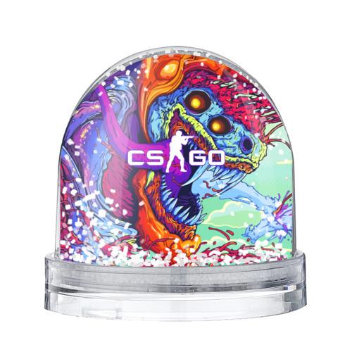 Водяной шар со снегом CS GO