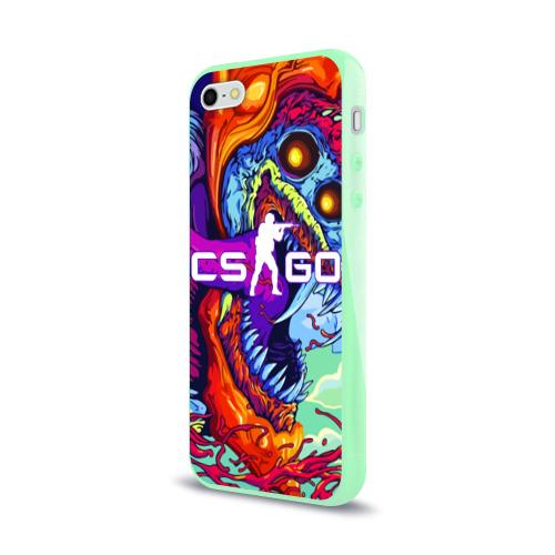 Чехол для iPhone 5/5S глянцевый CS GO Фото 01