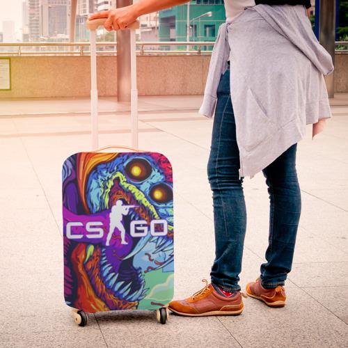 Чехол для чемодана 3D CS GO Фото 01
