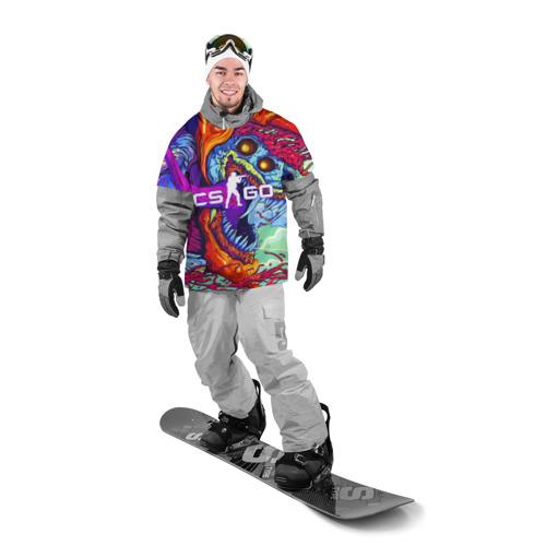 Накидка на куртку 3D CS GO Фото 01