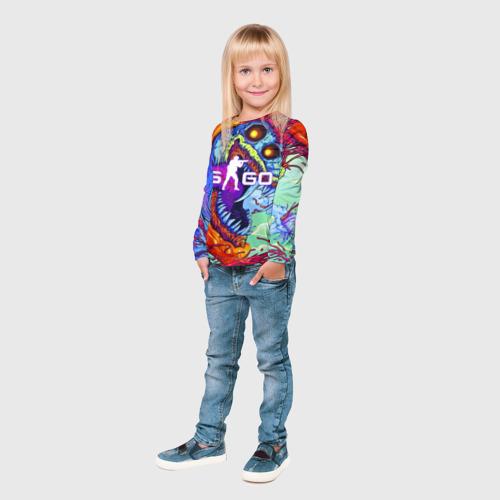 Детский лонгслив 3D CS GO Фото 01