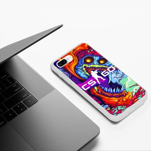 Чехол для iPhone 7Plus/8 Plus матовый CS GO Фото 01