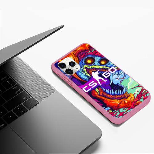 Чехол для iPhone 11 Pro Max матовый CS GO Фото 01