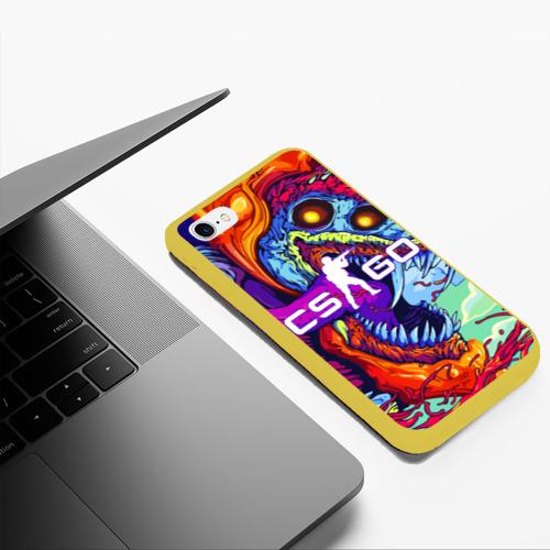 Чехол для iPhone 6Plus/6S Plus матовый CS GO Фото 01