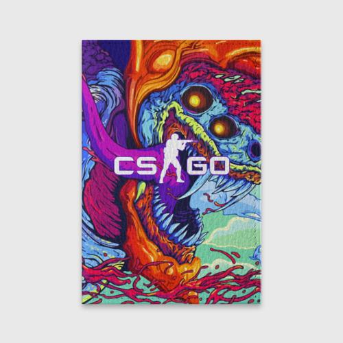 Обложка для паспорта матовая кожа CS GO Фото 01