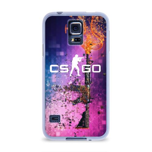 Чехол для Samsung Galaxy S5 силиконовый  Фото 01, CS GO