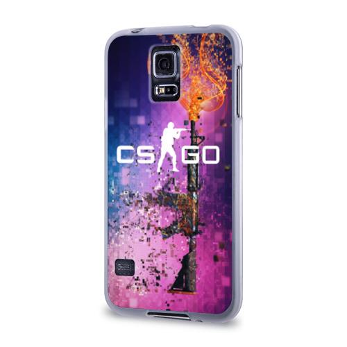Чехол для Samsung Galaxy S5 силиконовый  Фото 03, CS GO