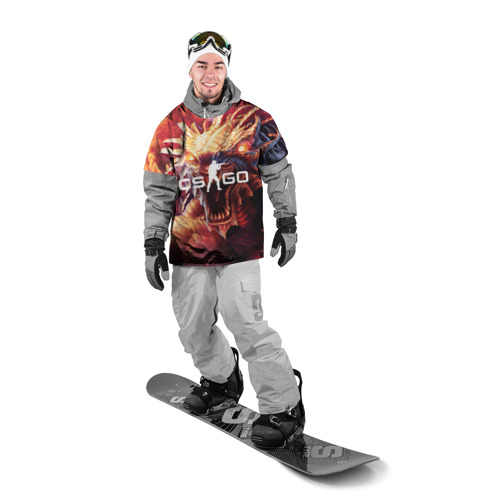 Накидка на куртку 3D  Фото 03, CS GO