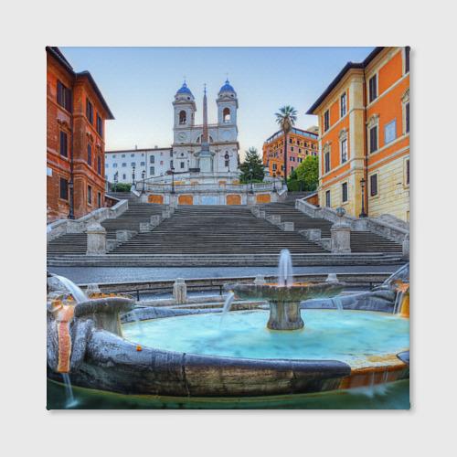 Холст квадратный  Фото 02, Рим (Италия)