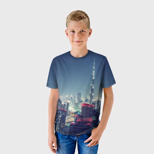 Детская футболка 3D Дубай