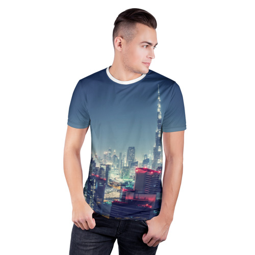 Мужская футболка 3D спортивная  Фото 03, Дубай