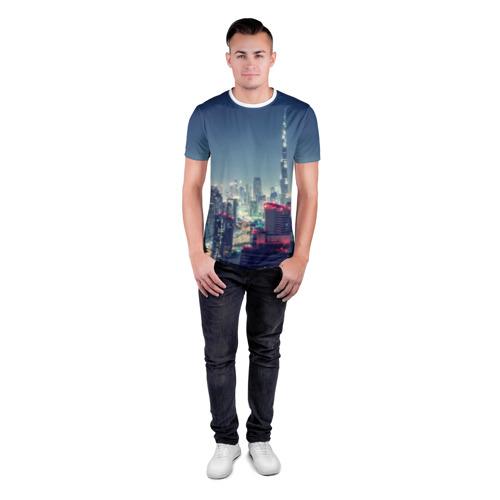 Мужская футболка 3D спортивная  Фото 04, Дубай