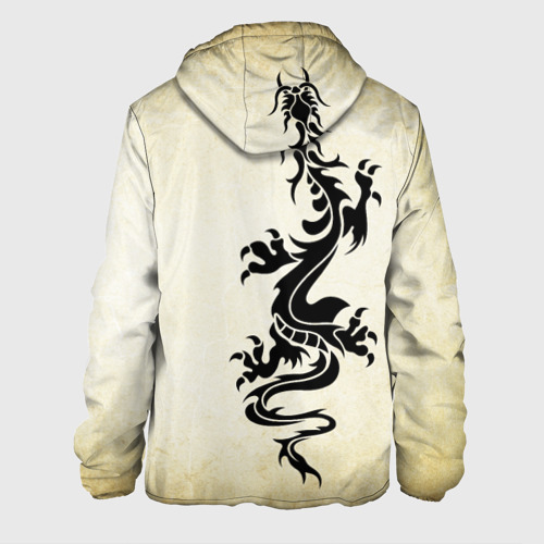 Мужская куртка 3D Крадущийся дракон Фото 01
