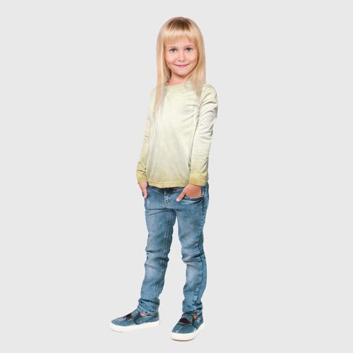 Детский лонгслив 3D  Фото 04, Крадущийся дракон