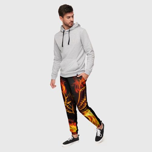 Мужские брюки 3D Феникс Фото 01