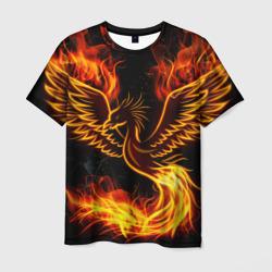3dfb6f76d0261 Купить футболку феникс, модная одежда с принтами и надписями птицы ...