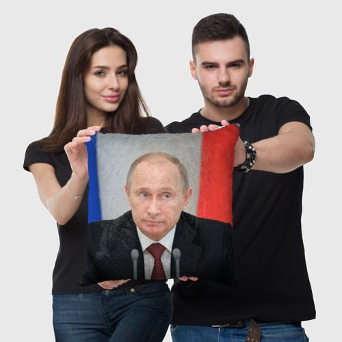 Подушка 3D  Фото 03, В.В.Путин
