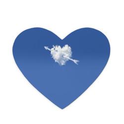 Облако, сердце, стрела