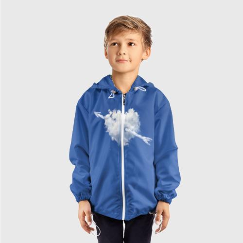 Детская ветровка 3D  Фото 03, Облако, сердце, стрела
